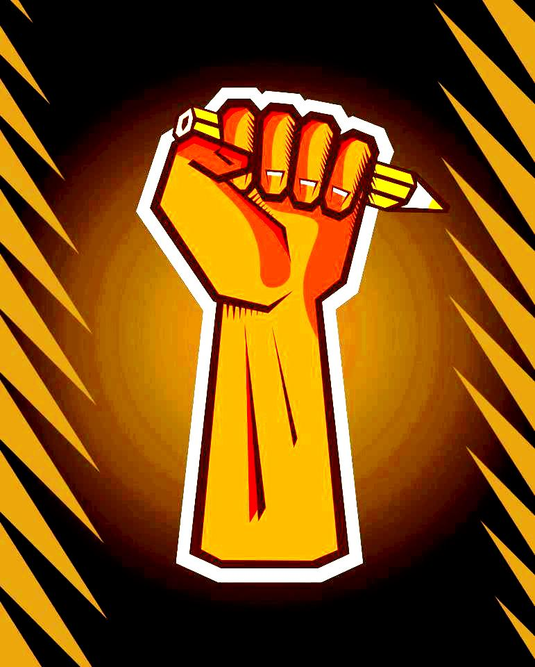 מאבק המשוררים - לוגו